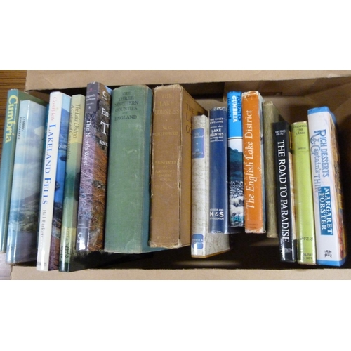 80 - <strong>Cumbria & Lake District. </strong> A carton of various vols....
