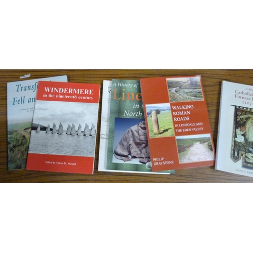 81 - <strong>Cumbria & Lake District.  </strong>17 mainly softback vols. incl. CWAAS, CNWRS...