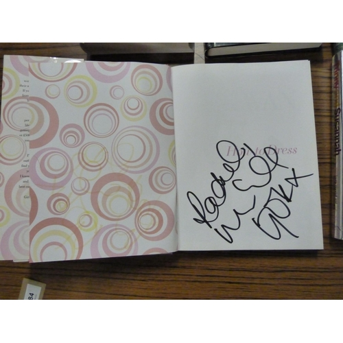 84 - <strong>Signed Books.</strong>A carton of works mainly in d.w's & signed/or inscribe...