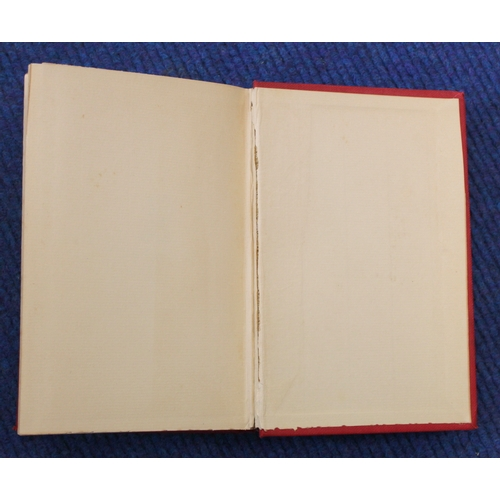 99 - <strong>STOKER BRAM.</strong>The Shoulder Of Shasta. Orig. red cloth. 1st edition, Westminster, 189...