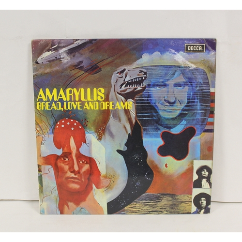 Amaryllis LP 'Bread Love and Dreams, UK 1st pressing on Decca.