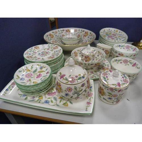 10 - Part set of Minton Haddon Hall dinnerwares....