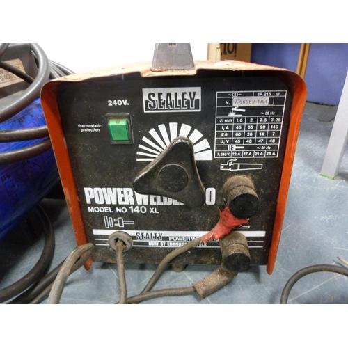 13 - Power Welder 140, and a heater....
