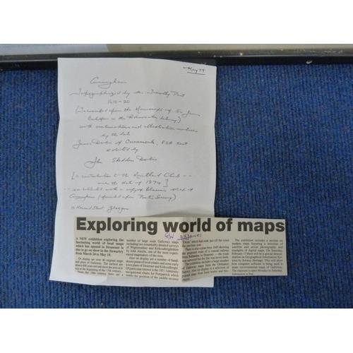 17 - Vintage map of Cunningham after Timothy Pont....