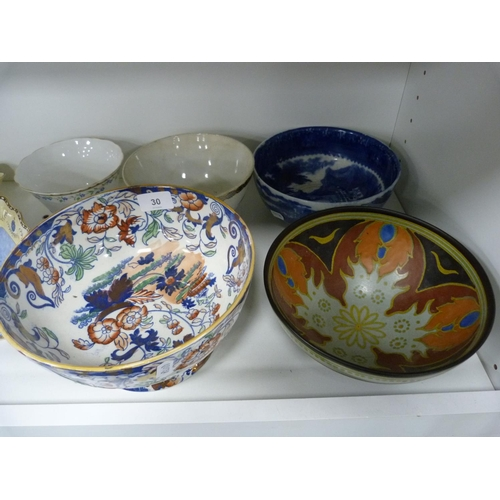 30 - Assorted bowls....