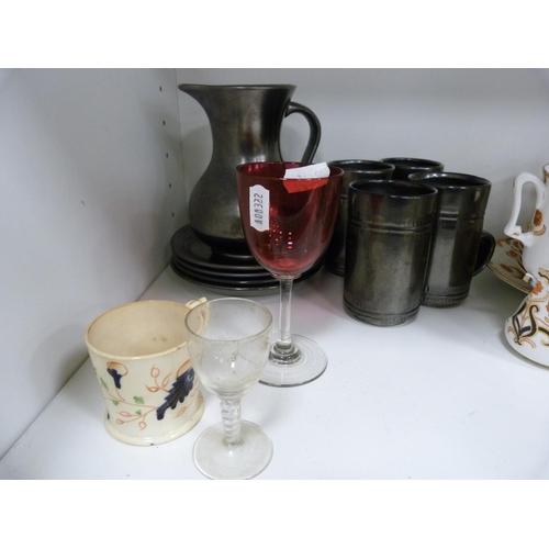 48 - Sutherland part tea set, Mason's part tea set, glasses etc....
