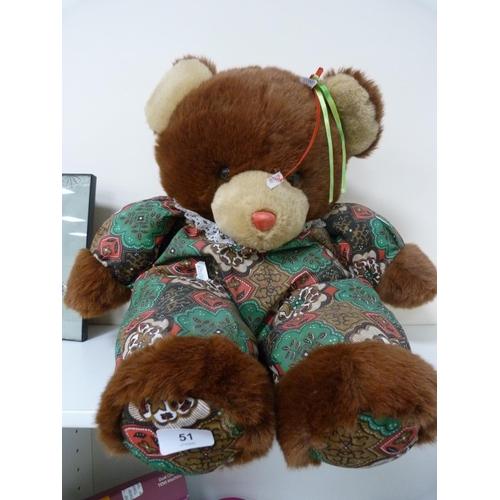 51 - Large teddy bear....