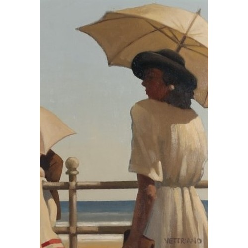 191 - JACK VETTRIANO OBE Hon LLD (Scottish b 1951)*ARR*,<br />Girl on Promenade(Named as Woman with a P...