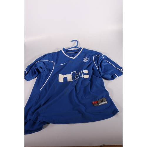 54 - Rangers Football Club autographed shirt circa 1999 with 19 signatures