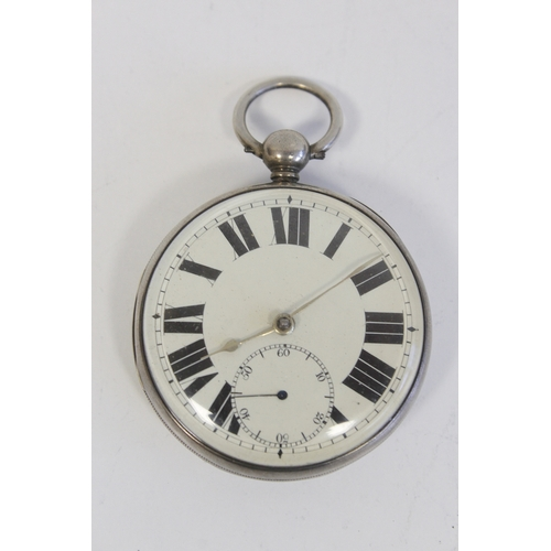 6 - Silver table roller lever watch by Graham Liverpool, Chester 1848, a Geneva cylinder watch and a Dox...