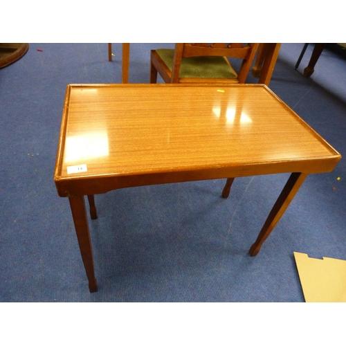 14 - Small fold up tray table