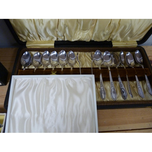 26 - Collection of epns cutlery, all boxed