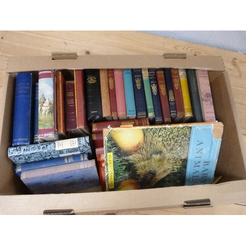 28 - Large box of books