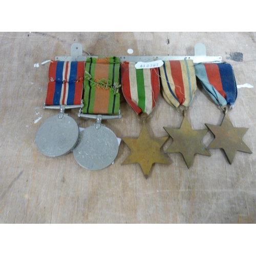 3 - Set of WW11 dress medals