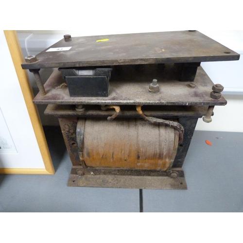 43 - Large vintage transformer