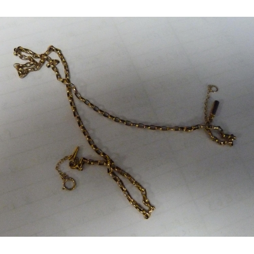 53 - 9ct gold belcher chain 4.4g