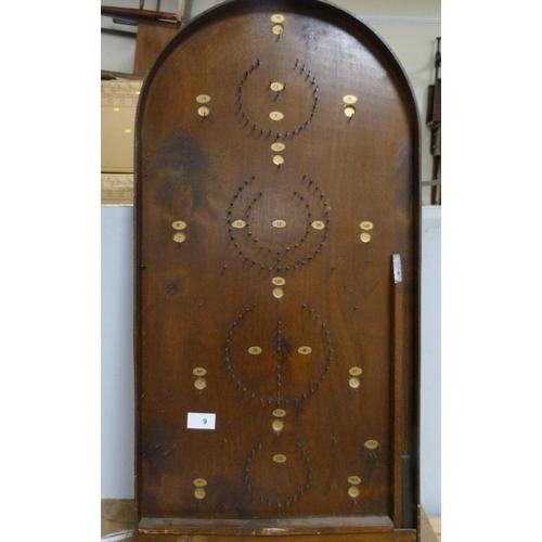 9 - Vintage bagatelle board