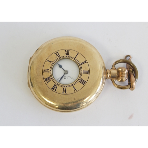55 - Cyma rolled gold pocket watch and another (2)...