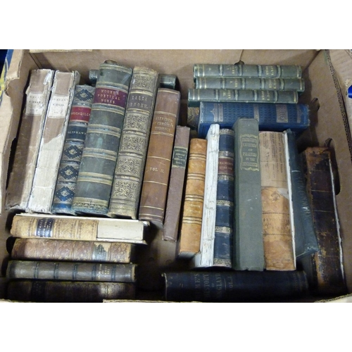1 - POPE ALEXANDER.The Poetical Works. 3 vols. only (of 4). Eng. frontis & vignettes. Ha...