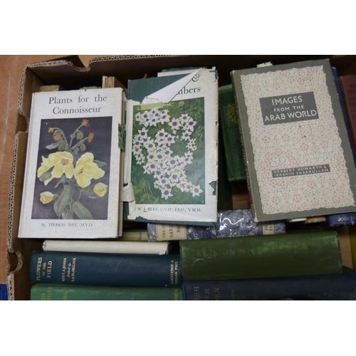 16 - Plants, Gardens & Natural History.A carton of various vols.