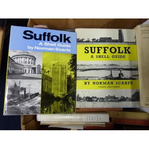 2 - CAUTLEY H. M.Suffolk Churches & Their Treasures. Col. & other illus. Quarto. Ori...