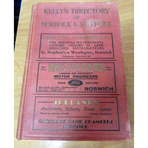 3 - KELLY & CO.Directory of Norfolk & Suffolk for 1933.