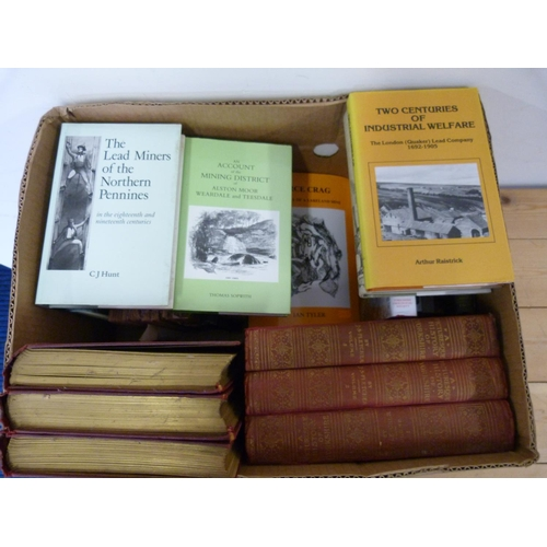 33 - Northern Topography, Mining & Geology.A carton of various vols.