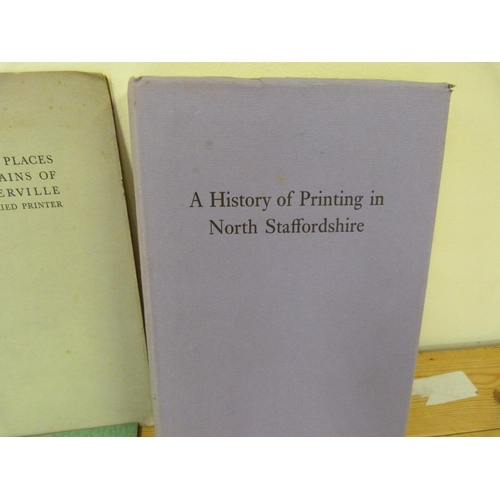 35 - City of Birmingham School of Printing.6 various publications in card wrappers; also 2 ot...