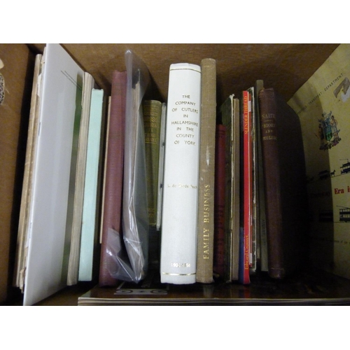 4 - English Topography.A carton of books & softback publications incl. East Anglia &...