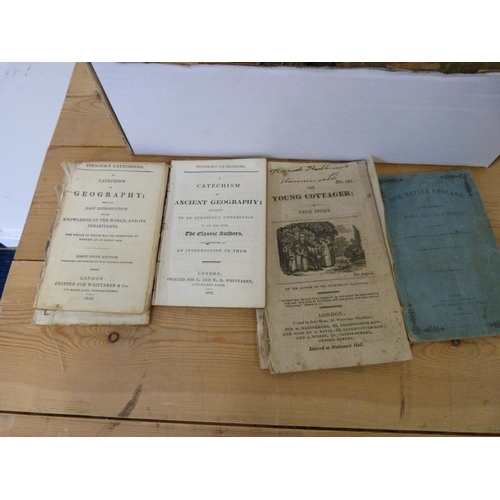 40 - Children's & various.A small carton of late 18th/19th cent. 12mo & smaller vols....