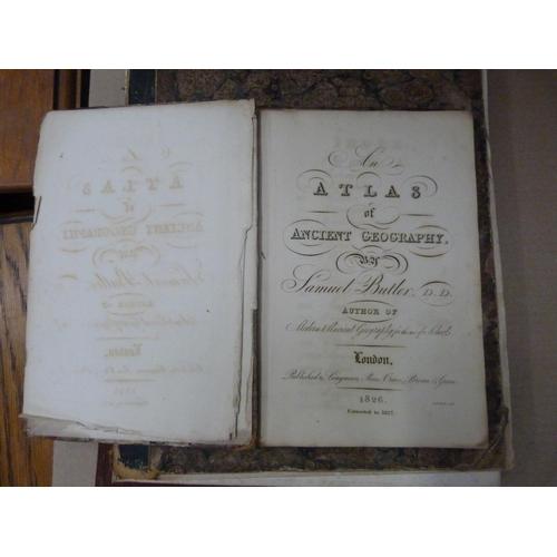 45 - Atlases.Arrowsmith's New General Atlas, Basset's Atlas Illustre and Doctor Butler's Atla...