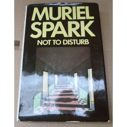 52 - SPARK MURIEL.The Driver's Seat, 1970 and Not To Disturb, 1971. 1st ed's in d.w's. Inscribed & ...