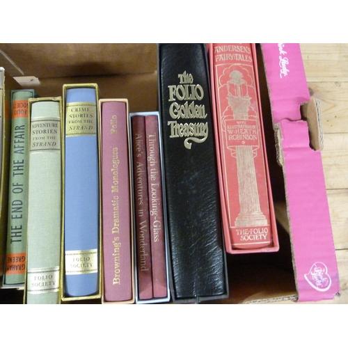 58 - FOLIO SOCIETY.11 vols. in slip cases incl. Heath Robinson, Andersen's Fairy Tales....