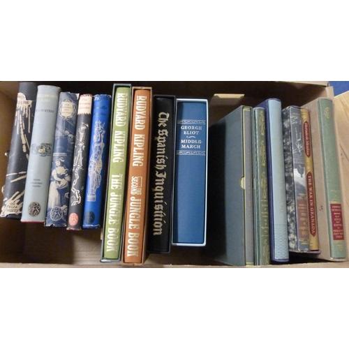 59 - FOLIO SOCIETY.11 vols. in slip cases; also 5 early ed's in d.w's. (16)....