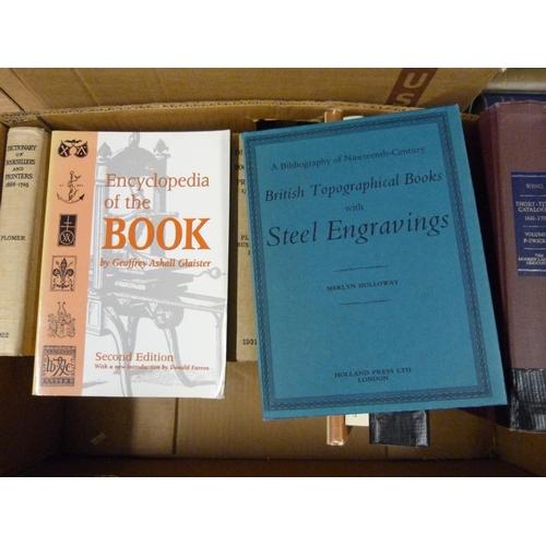 6 - Books & Bibliography.A carton of various vols.