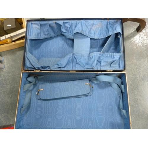 17 - Vintage suitcases.