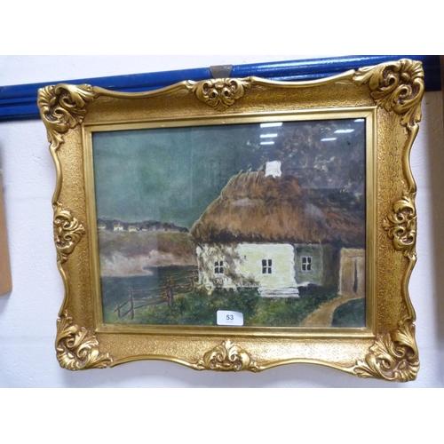 53 - WRZESZCZ, Chata (cottage).