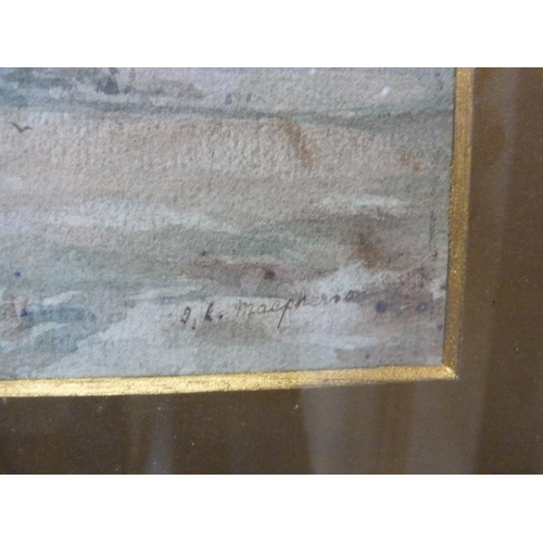 57 - MACPHERSON, highland scene, watercolour.