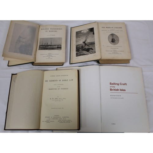 34 - Foreign Travel & others.A carton of various late 19th/early 20th cent. vols., mixed cond....