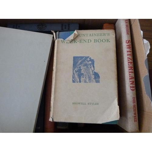 10 - Climbing & Mountaineering. 15 various vols.