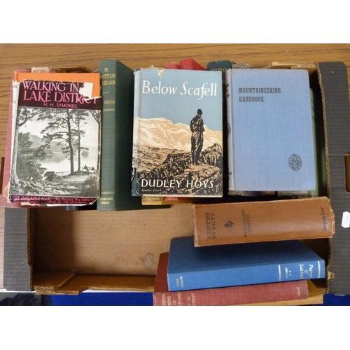 12 - British Climbing & Mountaineering, Topography, etc.21 various vols.