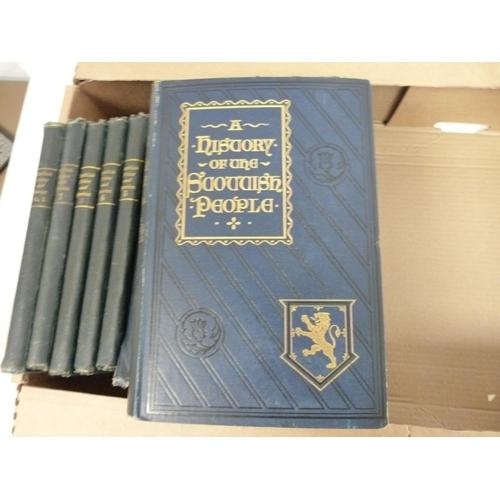 20 - WYLLIE D. & SON (Pubs).Scottish Notes & Queries. Bound vols. 1 to 5. Illus. Smal...