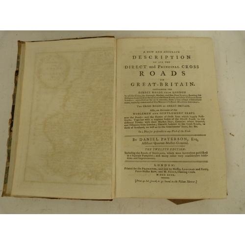 22 - PATERSON DANIEL.A New & Accurate Description of All the Direct & Principal Cross...