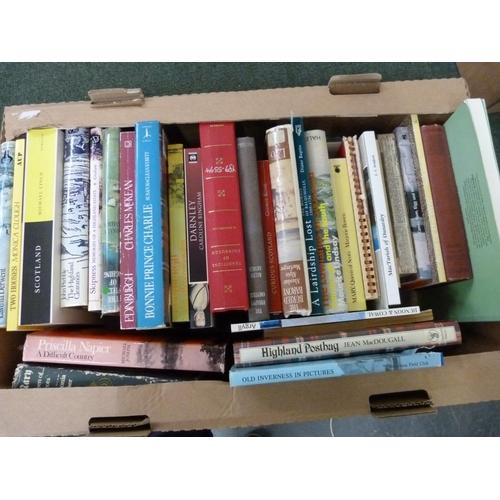 37 - Scotland.A carton of various vols.