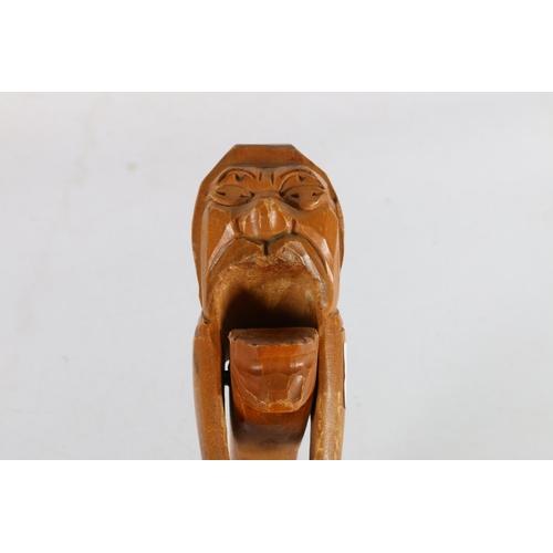 8 - Scandinavian carved wooden nutcracker, 24cm