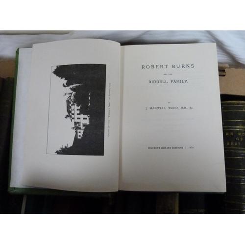 2 - Scotland.A carton of various vols. incl. Glasgow, Robert Burns & others.