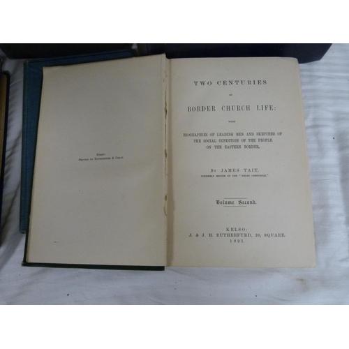20 - OLIVER MRS.The Gledstones & the Siege of Coklaw. Orig. cloth gilt. Edinburgh, 1878; ...