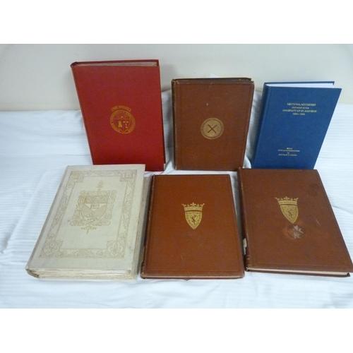 7 - St. Andrews University.Votiva Tabella, A Memorial Volume. Quarto. Orig. cream cloth gilt...