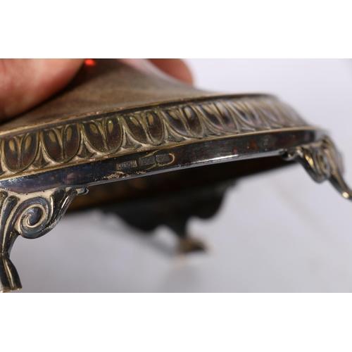 22 - WMF (Württembergische Metallwarenfabrik) silver plated bowl of boat shape in the Art Nouveau manner ...