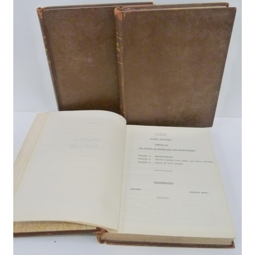 39 - IRELAND & DUMFRIESSHIRE.Family Chronicle.Vols. 2, 3 & 4 of a detailed family chronicle. V...